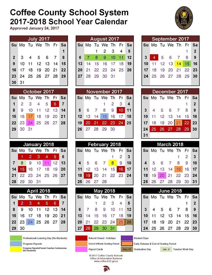 Boe Adopts  School Calendar