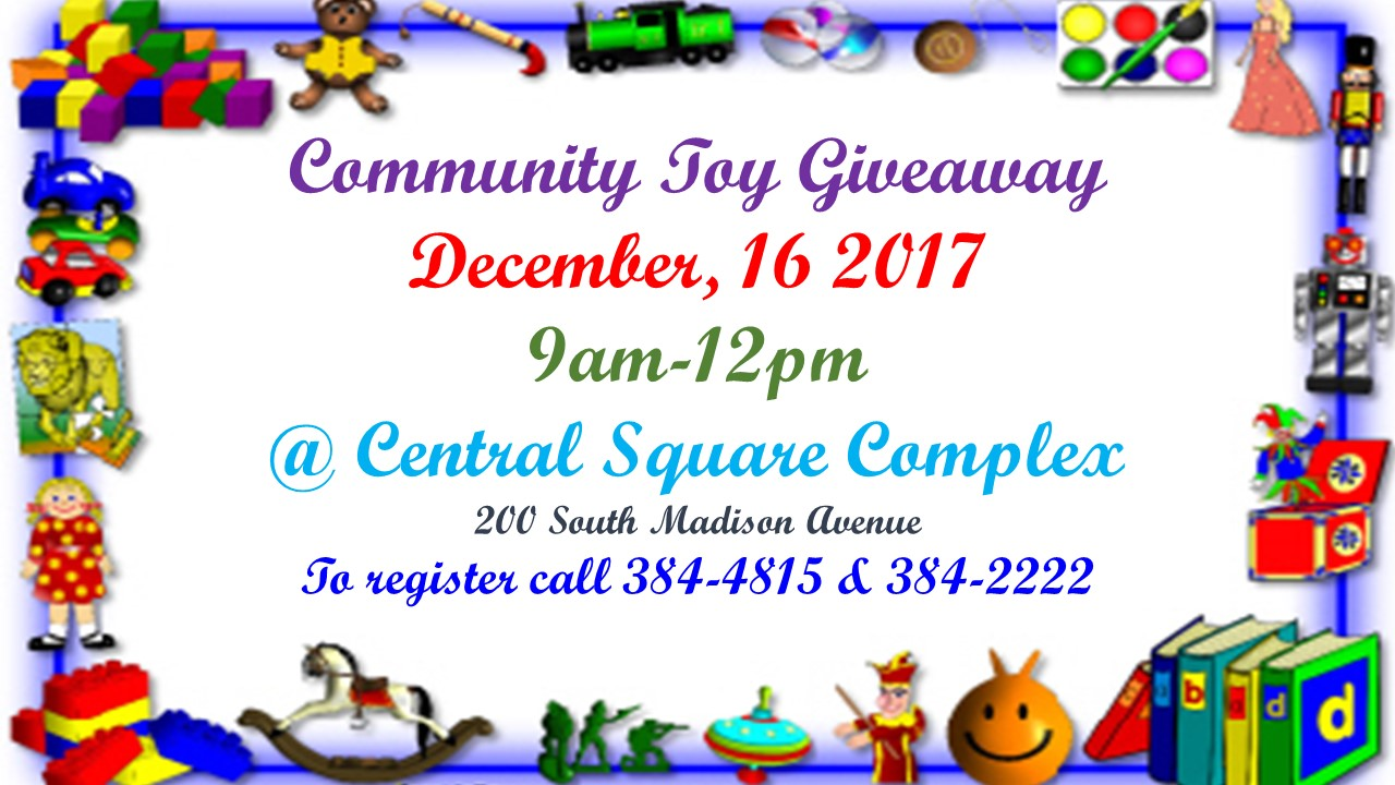 Community Toy Giveaway