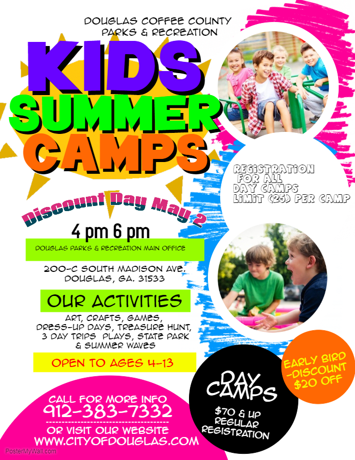 Copy of Kids Summer Camp Flyer 4