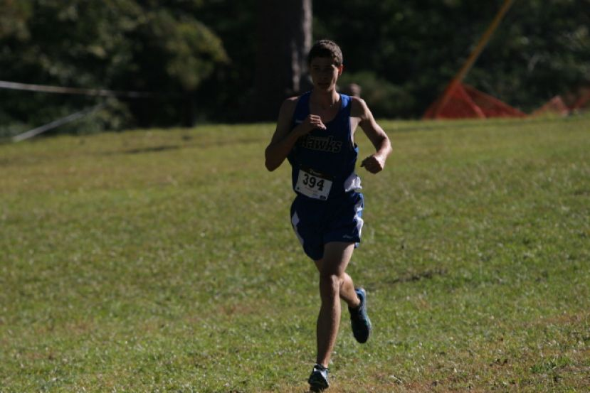 Irwin County's Robert Bledsoe ran a 27:16 at the conference finals Saturday morning in Macon. It was the second-fastest time in South Georgia State College history.
