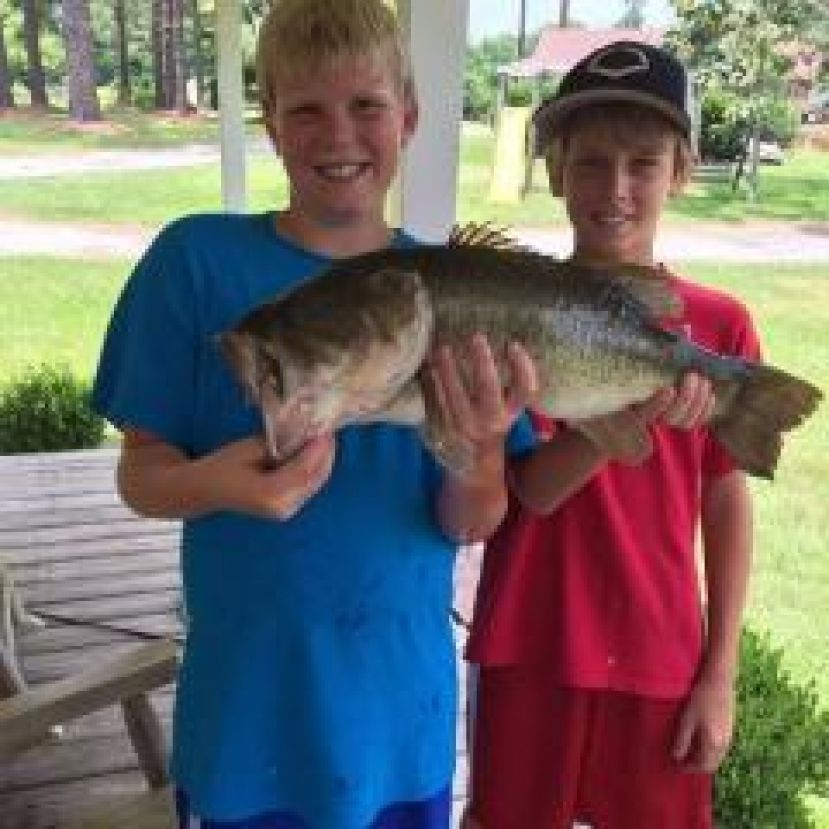 Local Kids Land a Whopper!