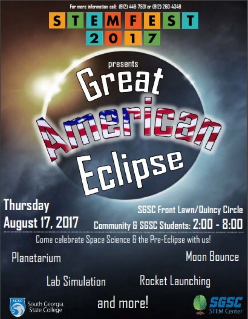 SGSC STEM Center to hold STEM Fest 2017, Great American Eclipse