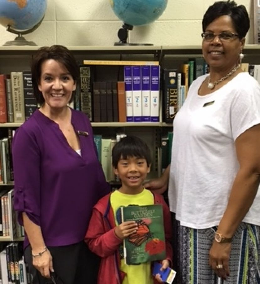 Harry Bagwell named top 2nd grade reader at Eastside