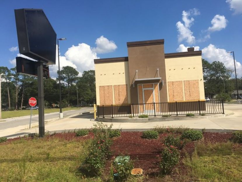 The new Checkers & Rally fast-food restaurant will replace the old Church's Chicken located on Peterson Ave S.