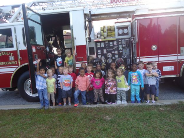 Fire department visits Indian Creek