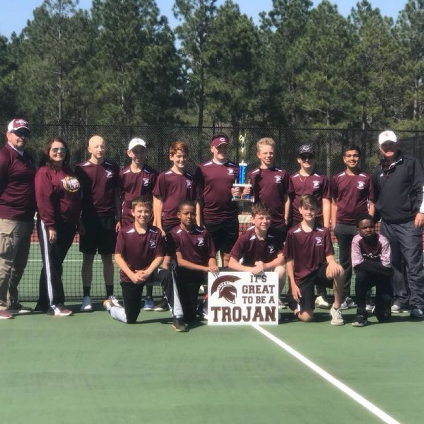 CMS boys' tennis claims conference championship