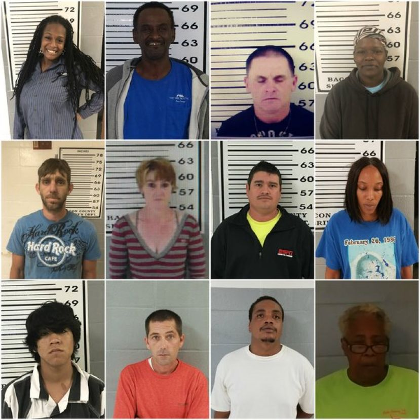 (L-R): First row: Natasha Rea Peterson, Robert Faulk, Mark Ashley Carter, Becky Lynn O'Neal; Second row: Kevin Parker Haselden, Tammy Rena Howell, Dionico Cueves Aguilar, Ashley Dixon; Third row: Martin Espana-Leyva, William Dan Taylor, Daniel Mckenzie, Georgia Jane McKinnon