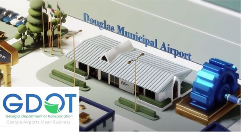 DOT releases video featuring economic impact of Douglas airport
