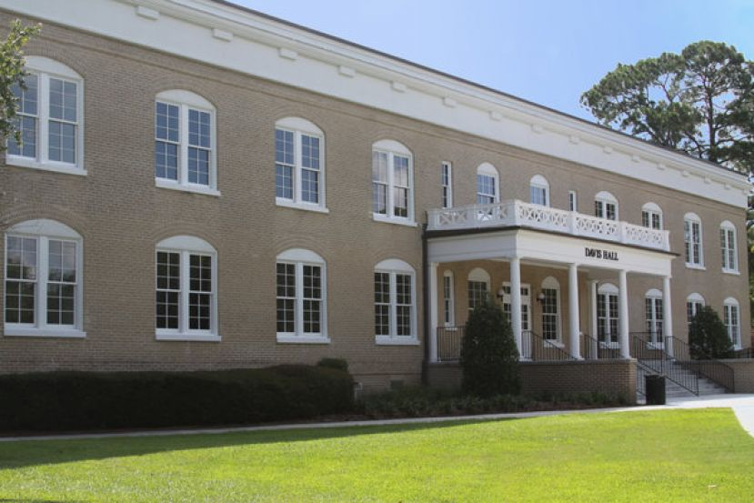 Recently renovated Davis Hall is on the Douglas Campus with state-of-the-art classroom space.