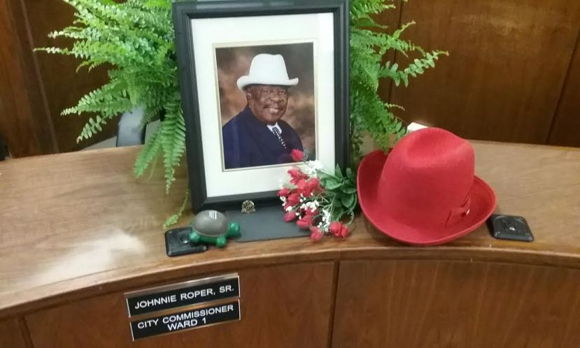 The city honored the late Johnnie Lee Roper Monday night during the first meeting held since his passing last Monday. The city will hold a special election to fill his seat.