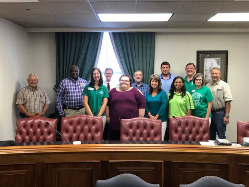 Earlier this week, the county commission signed a proclamation for National 4-H Week.