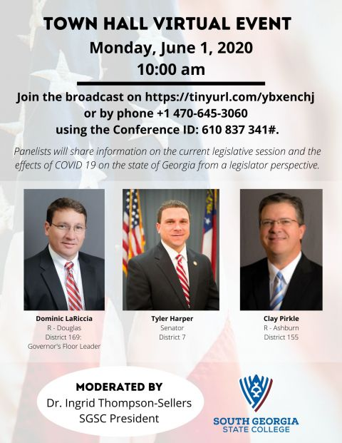 South Georgia State College to host virtual town hall June 1