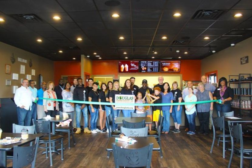 The Douglas-Coffee County Chamber of Commerce recently celebrated the ribbon cutting and grand opening for Ellianos'