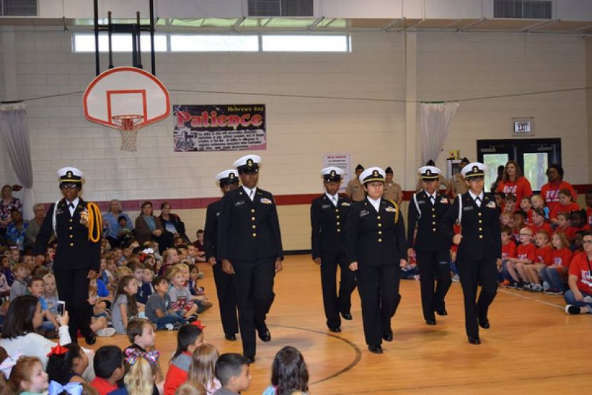 Indian Creek honors veterans