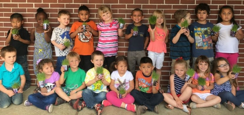 West Green Pre-K learns about horticulture