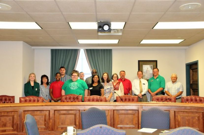 Coffee County Commissioners proclaim October 1st-7th as Coffee County 4-H Week as 4-H members celebrate Georgia/National 4-H Week