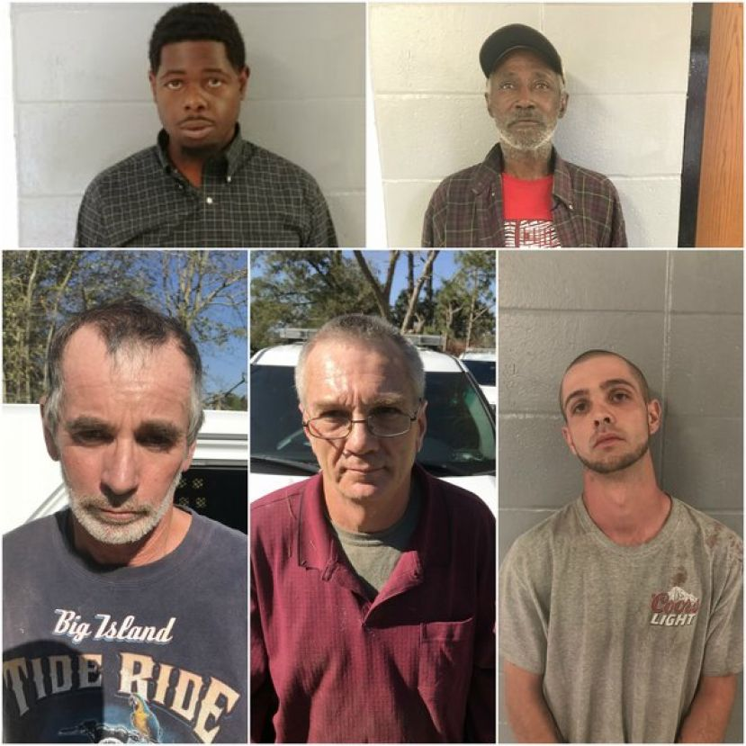 Top (L-R): Christian Morris, Jean Moore; Bottom (L-R): Terry Johnson, David Sweat, Charles Robert Matthews, II. Photos of all persons not available.