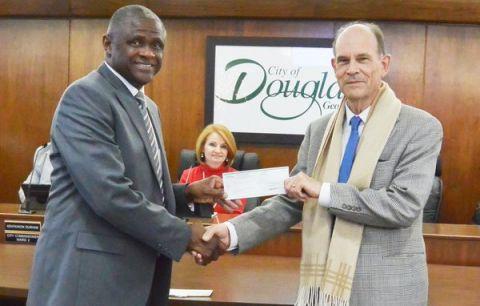 City of Douglas contributes to the Mayors' Christmas Motorcade