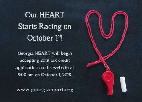Georgia HEART Hospital Program to begin accepting applications on October 1