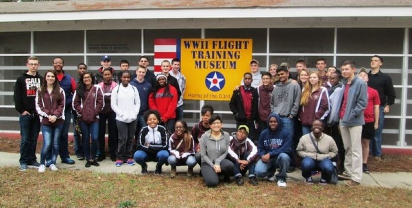 Union Grove Junior ROTC visits Douglas flight museum