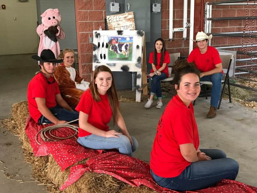 The first event held at the Billy Walker Agriculture Center was ag literacy day.