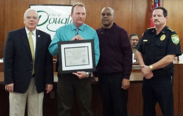 Douglas police officer earns state arson investigator certification