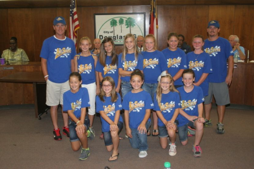 "The Douglas-Coffee County Parks and Recreation Department Mite girls' softball team finished second in the state this summer. See the image gallery just above the ""Comments"" section for photos of the tennis and swim teams."