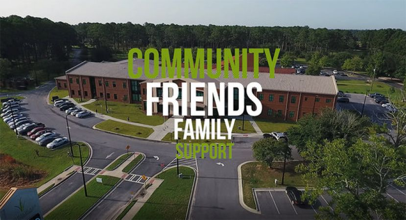Wiregrass Tech's Marketing and Public Relations was recognized for National Marketing Award for a commercial series produced by Wiregrass graduates and owners of a local video production company, Motion Wave Productions.  This is a photo of drone shots from one of the commercials.