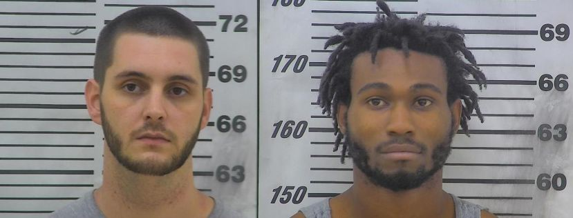 Cameron Spires (left) and Leodis Weldon Mobley (right)