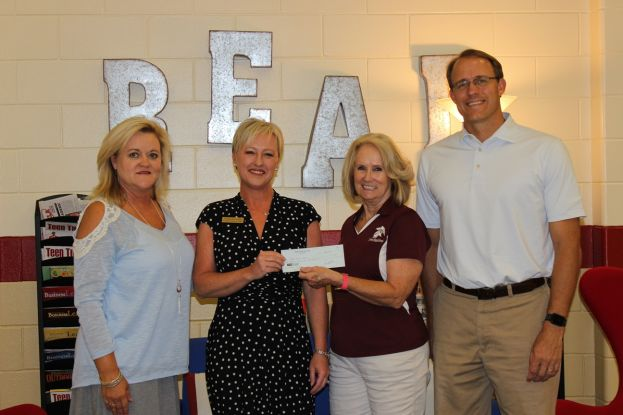 Rotary Club supports literacy at CMS
