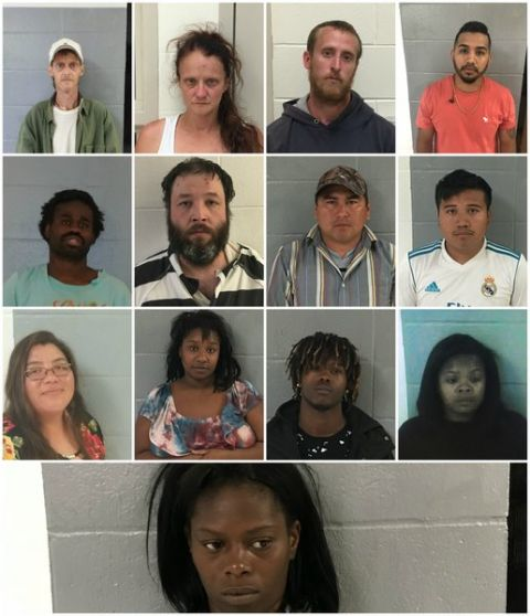 Alma PD makes arrests on traffic violations, drugs, and variety of criminal offenses