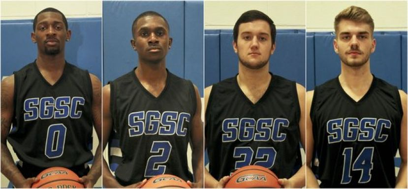 (L-R): Tracy Hector, Jr., Nate Louis, Jacob Spence, Willem Vermylen