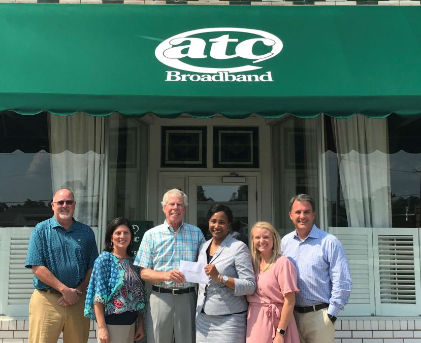 "ATC Broadband supports ""Bridging the GAP"" fund drive for SGSC Students"