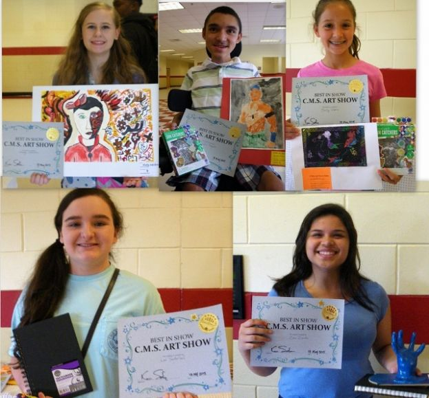 Coffee middle-schoolers show their artistic talents