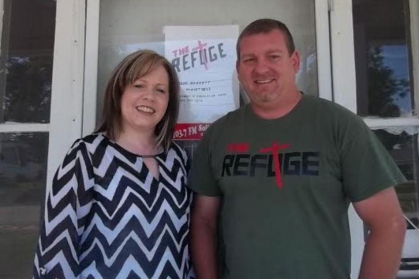 Denise and Jerome Burkett are providing a refuge for homeless individuals in Douglas.  Since October 2013, the couple has assisted 20 individuals.