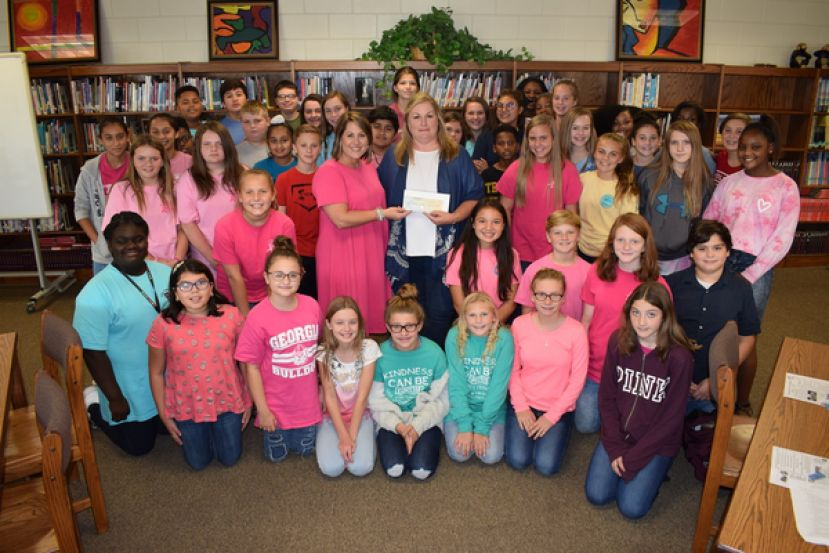 CMS raises $1,100 for childhood cancer awareness