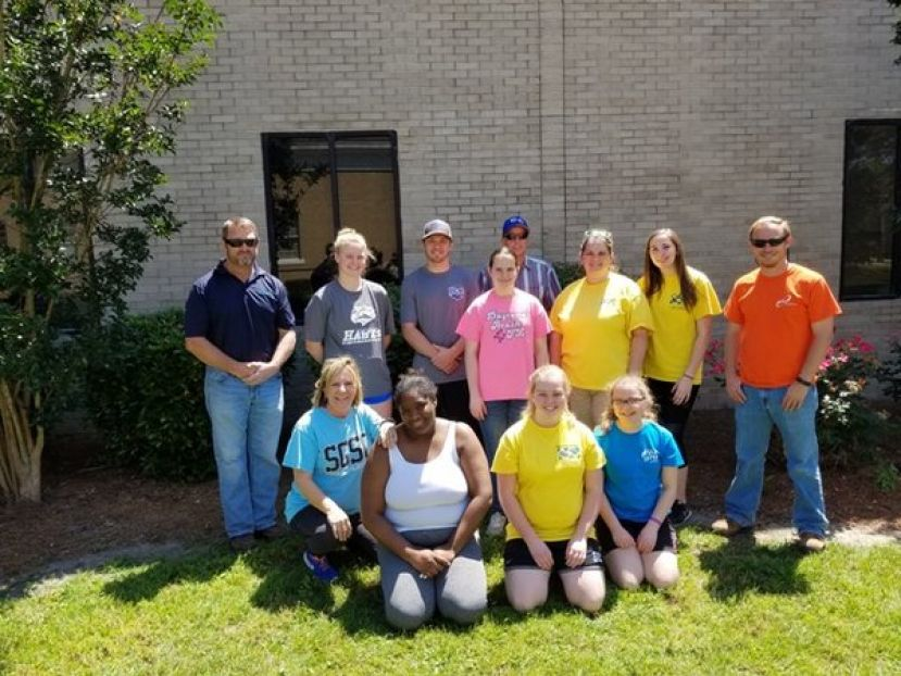 On Saturday, April 28, 2018, volunteers with the City of Douglas, ESG Operations and South Georgia State College helped clean up the South Gaskin Avenue and Pinecrest Drive area of Douglas.