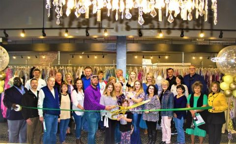Douglas-Coffee County Chamber of Commerce celebrates Dresses and Dreams expansion, relocation