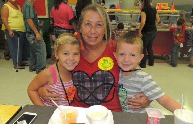 West Green Elementary Pre-K celebrates Grandparents Day
