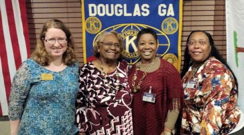 Douglas Kiwanis Club news