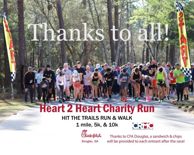 Vickers, Bailey take first in Heart 2 Heart 10K race