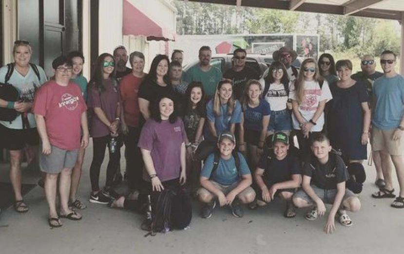 A group of local missionaries from GracePointe Baptist Church (pictured above) is stranded in Haiti after the Caribbean nation erupted in violence over rising gas prices Friday.