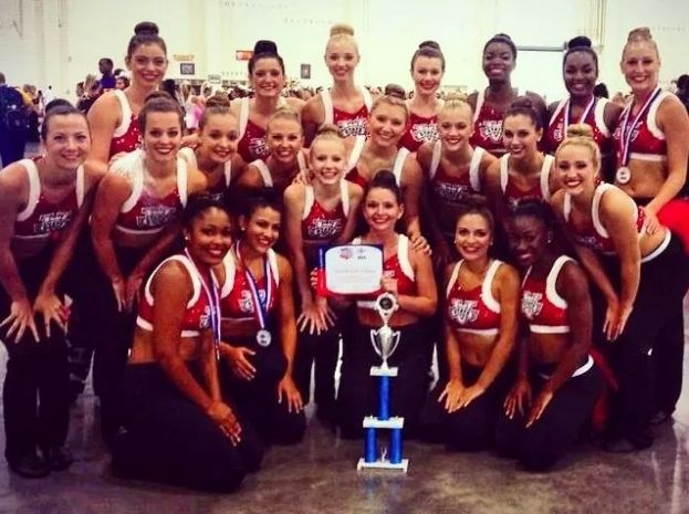 Local ladies compete, win competition on VSU danceline