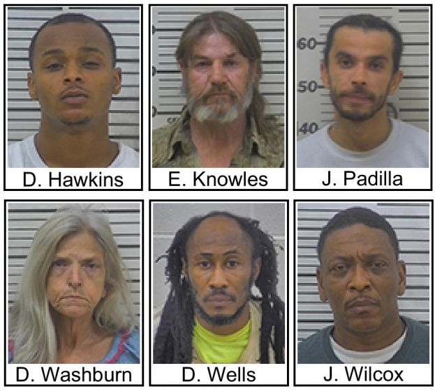 Here are a few recent drug arrests