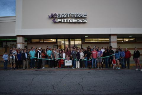 Anytime Fitness holds grand re-opening with ribbon cutting