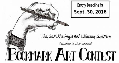 Satilla library's annual bookmark art contest begins Sept. 6