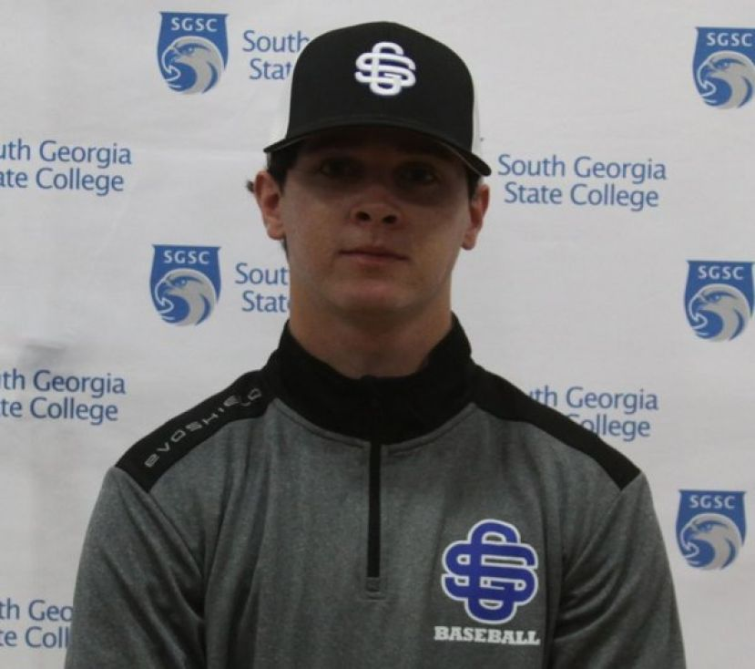 Pitcher Zach Mainor (above) was named GCAA Player of the Year after leading the conference in wins and ERA.