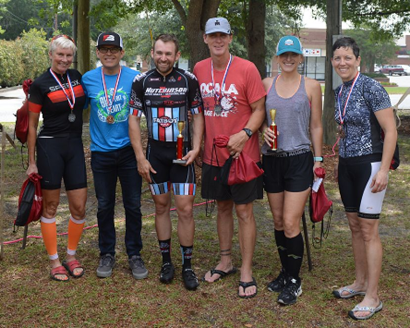 Poulan, Hall win 40 mile bike race in Douglas last Saturday