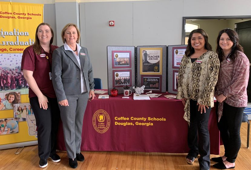 School system attends career fair at SGSC
