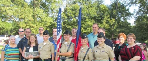 West Green Elementary holds flag dedication ceremony